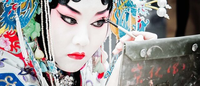 Maquillage traditionnel chinois